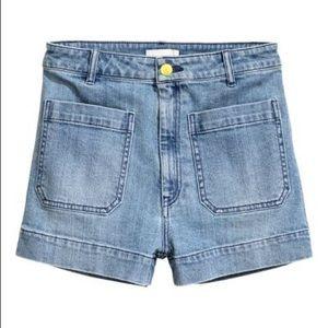 High waisted H&M Shorts